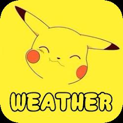 Pikach Weather Forecast Widget&Radar Map Monster