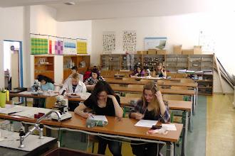 Photo: Školní kolo olympiády z biologie (21. a 24. únor 2011).