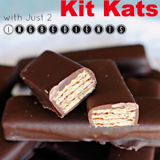 Easy Homemade Kit Kats.