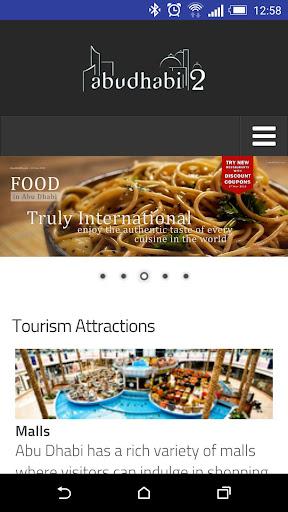 Abu Dhabi City App