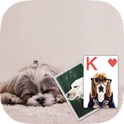 Solitaire Cute Puppies Theme 2.419 Icon
