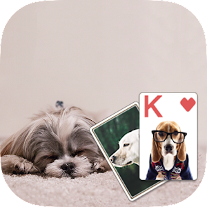 Solitaire Cute Puppies Theme for PC and MAC