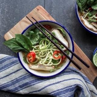 Pho Zucchini Noodle Soup.