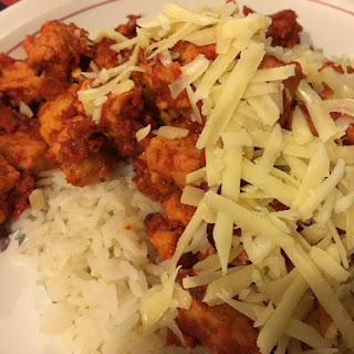 Paprika Quorn Chicken Pieces on Rice Recipe