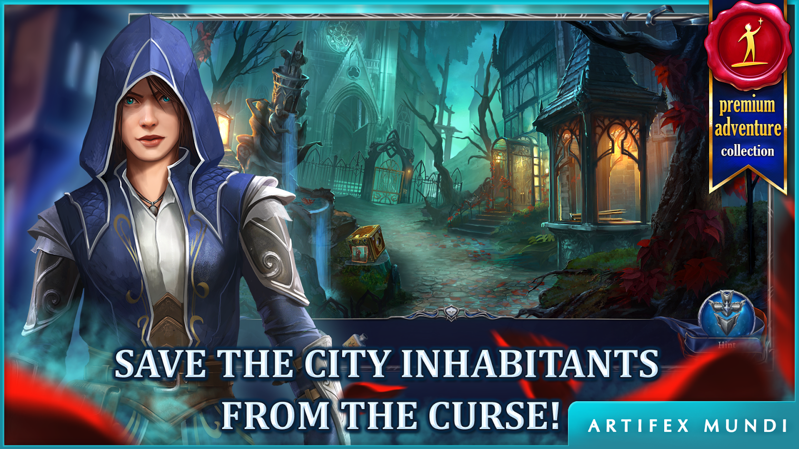 Grim Legends 3: The Dark City (Full)- screenshot