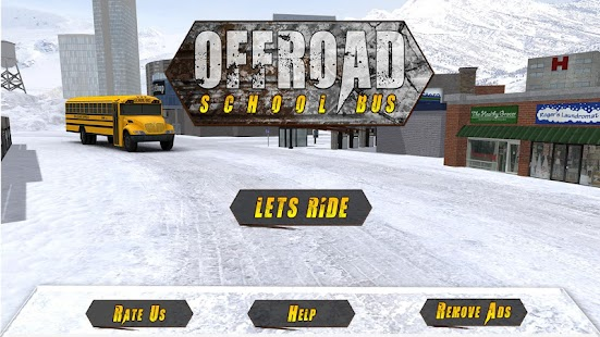 OffRoad School Bus Simulator - náhled