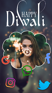 Diwali Video Maker With Music And Photos - náhled