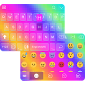 Rainbow Emoji Ikeyboard Theme
