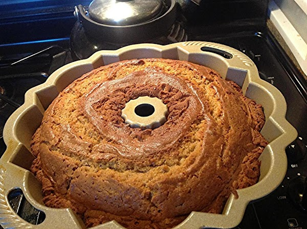 Allow cake to cool in pan at least 10 minutes.