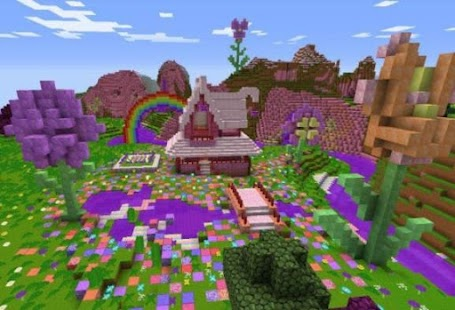 Garden For Minecraft Ideas - náhled