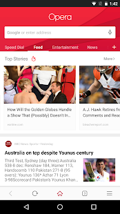 Opera browser - latest news Screenshot