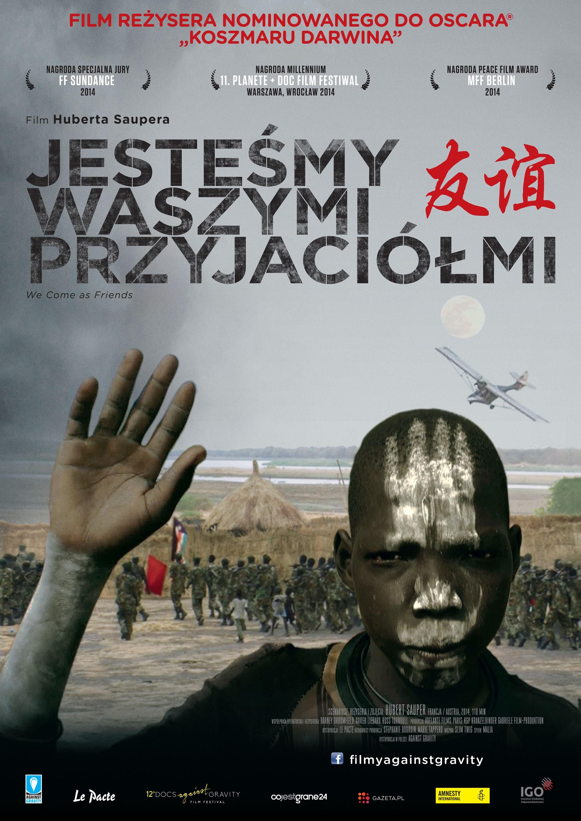 Polski plakat filmu 'Jesteśmy Waszymi Przyjaciółmi'