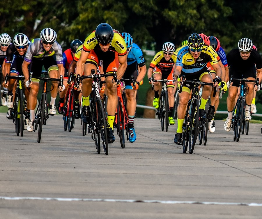 Sprint for the win by Bert Templeton - Sports & Fitness Cycling ( race, richardson, sprint, cycling, texas, win )