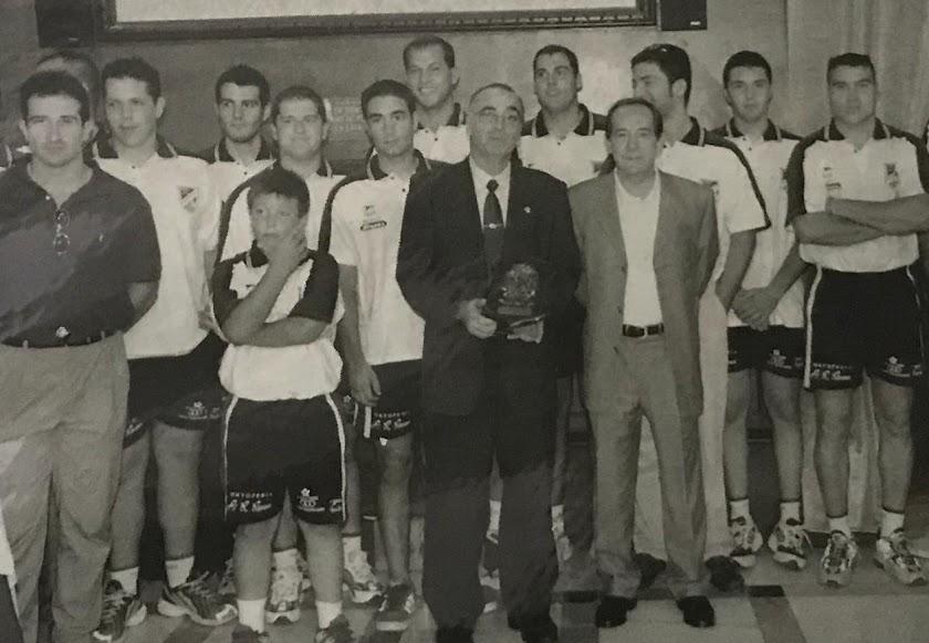 Antonio Rivera, el niño del balonmano