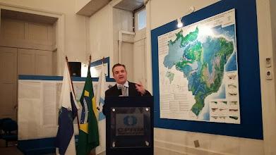 Photo: Eduardo Santa Helena fala durante o evento