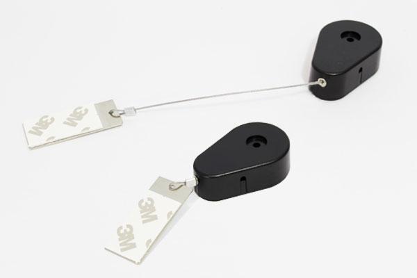 recolires de seguridad pera yoyo con piola metálica