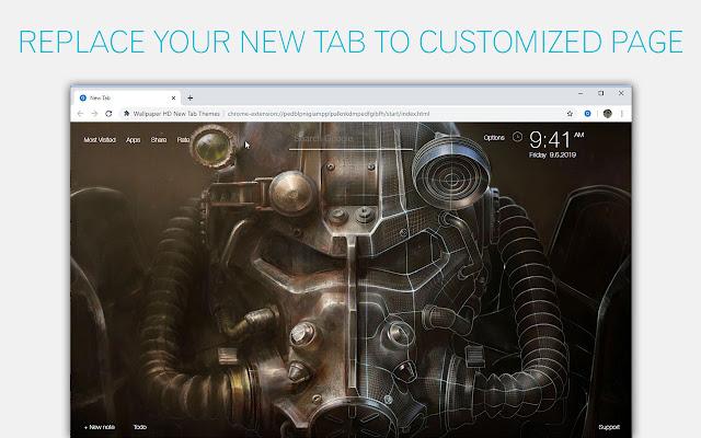 Fallout 4 Backgrounds New Tab - freeaddon.com