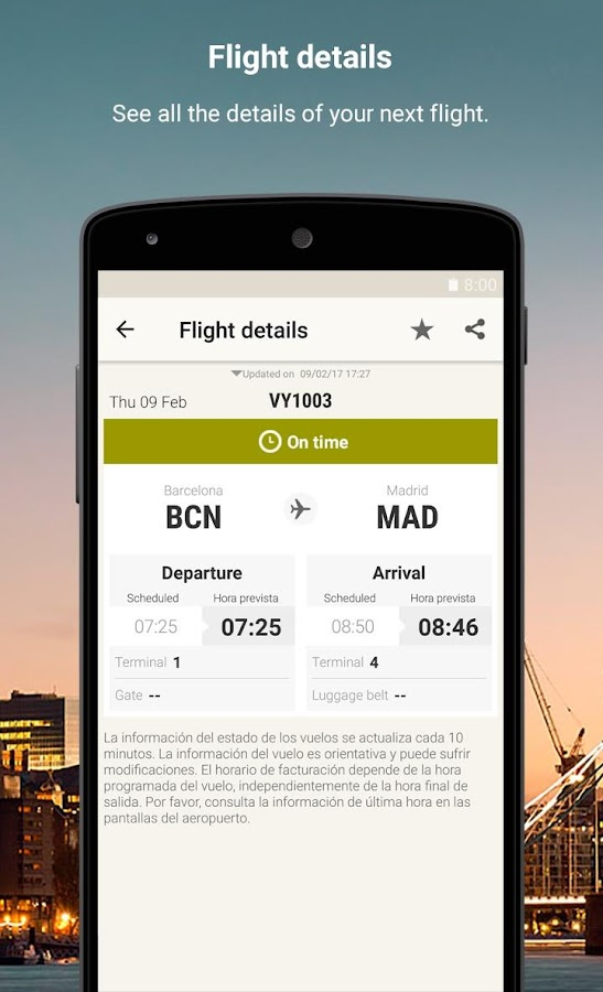 Vueling - Cheap Flights: captura de tela