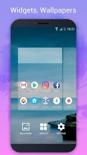 P Launcher for Android™ 9.0 launcher, theme Screenshot