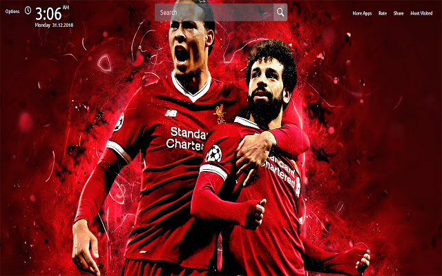 Liverpool Wallpapers Theme New Tab