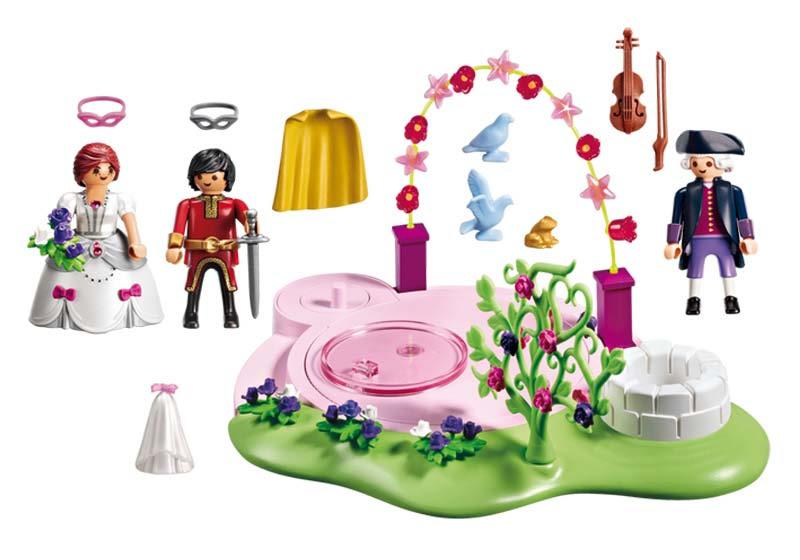 Contenido Real de Playmobil® 6853 Baile de Mascaras