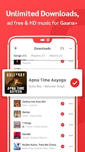 Gaana Music- Hindi English Telugu MP3 Songs Online Screenshot