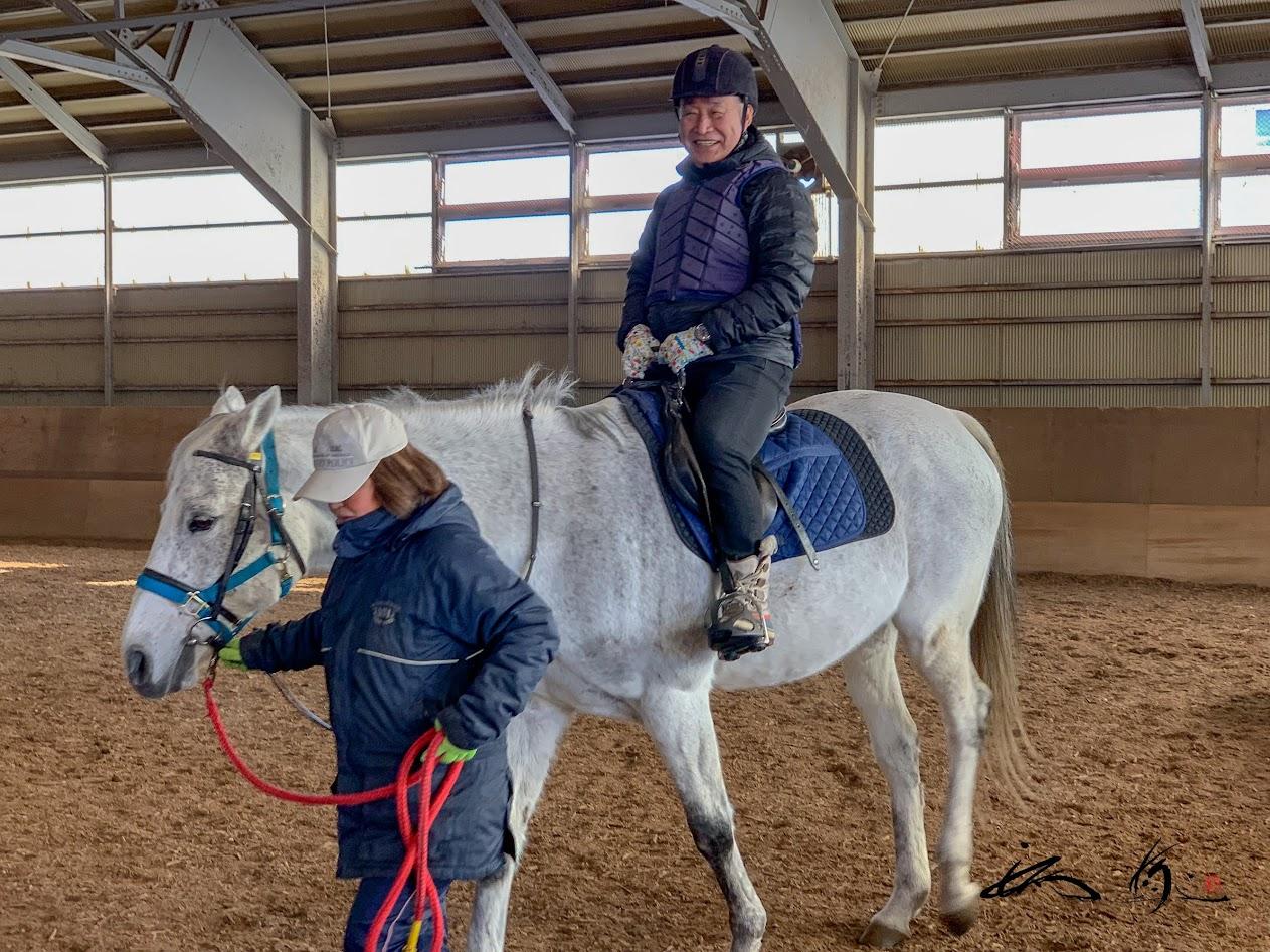 引き馬乗馬体験(乗馬公園)