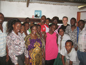 Photo: Ganahola youth bunge - moblization team with Kwa Ng'ombei businesses