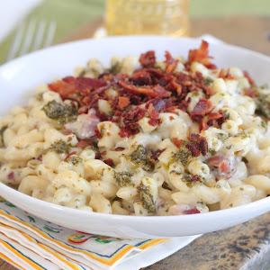 Bacon Pesto Mac & Cheese