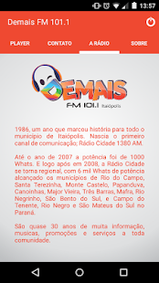 Demais FM 101.1- screenshot thumbnail