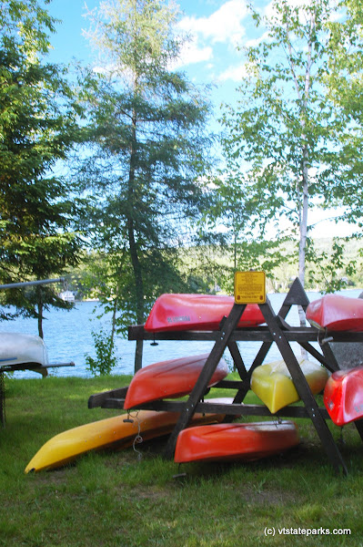 Photo: Kayaks on shore at Stillwater State Park