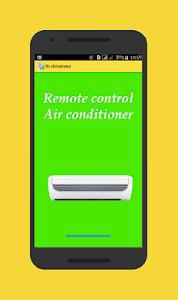 Remote Control Air Conditioner screenshot 0