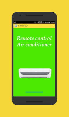 Remote Control Air Conditioner - screenshot