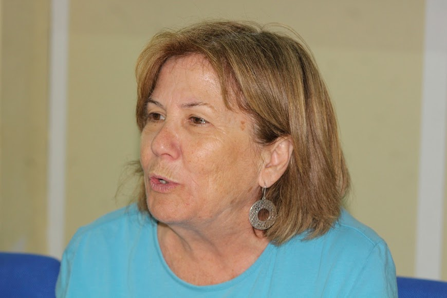 La directora del IES Aguadulce, Amparo García Escarabajal