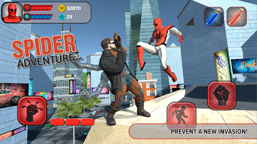 Spider Adventure screenshot 1