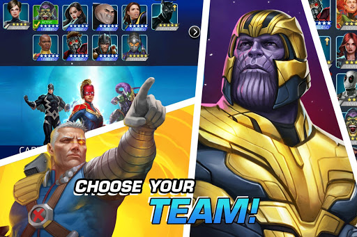 MARVEL Puzzle Quest: Join the Super Hero Battle! screenshots 5