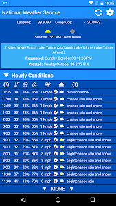 National Weather Service screenshot 3
