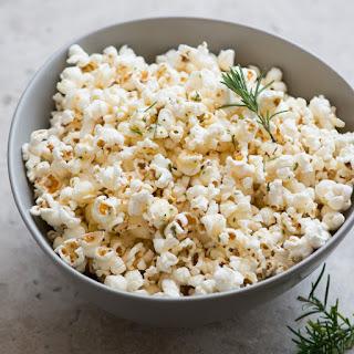 Rosemary and Sea Salt Popcorn