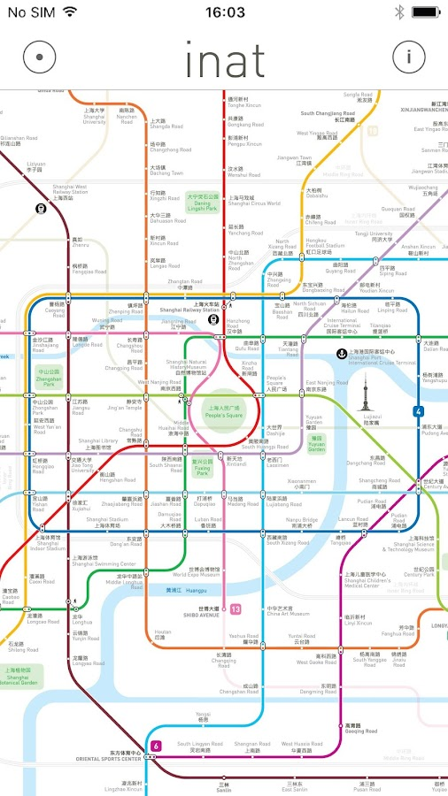 Inat - Metro Maps- screenshot