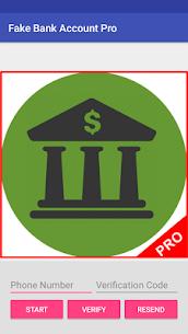 Fake bank account Pro 5