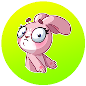 Bunny Funny Sticker For WhatsApp Android APK Download Free By Hidden Skull