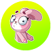 Bunny Funny Sticker for WhatsApp icon