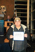 Photo: The lucky winner of the drawing for two tickets to the 2014 Tyler Tasting Party at the Newtown Campus