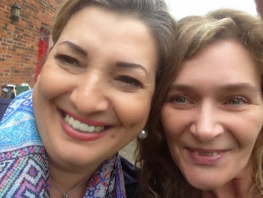 Photo: Maria Rosaria and Kelly