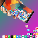 Rolling Icon - 3D Live Wallpaper & Launcher 2019 icon