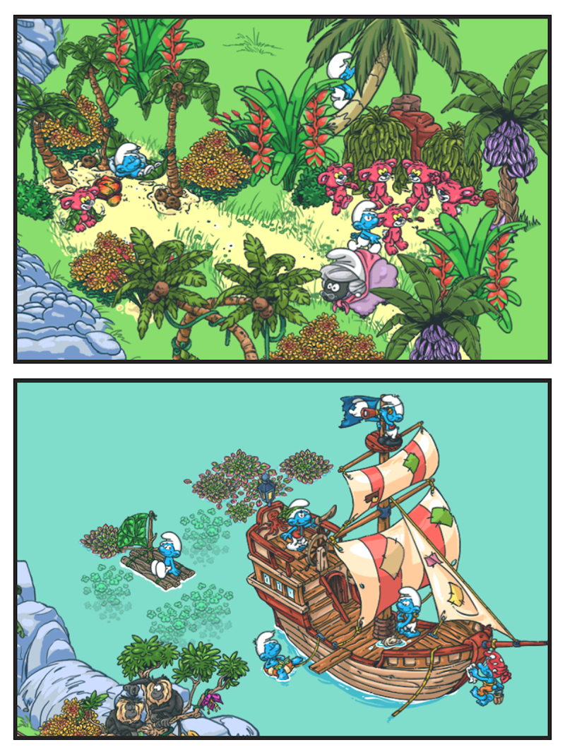 Smurfs' Village Screenshot 10