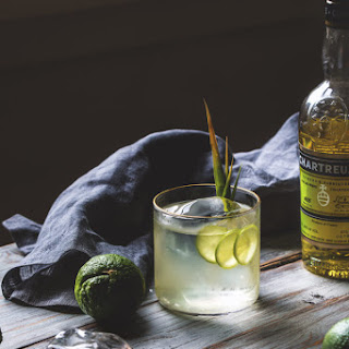 CHARTREUSE AND TEQUILA MILK PUNCH.