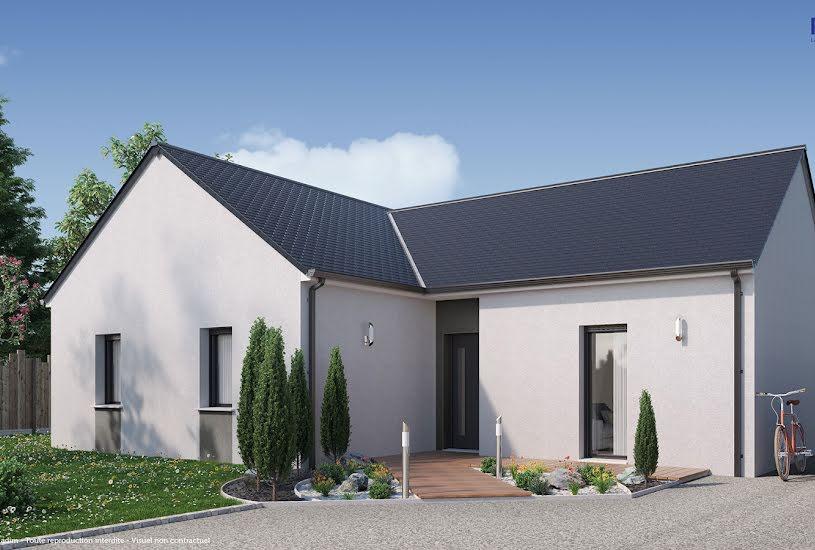 Vente Terrain + Maison - Terrain : 699m² - Maison : 83m² à Coulaines (72190)