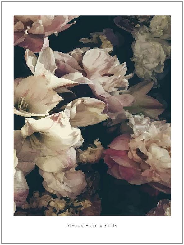 ARTPRINT DREAMY FLOWERS