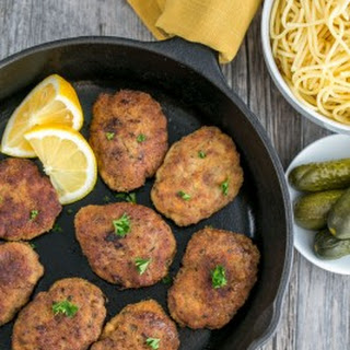 Chicken and Beef Croquettes (Pozharsky Kotleti)